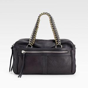 Pour La Victoire Hepburn Chain Top Handle Bag